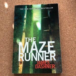 Maze runner book series by James Dashner